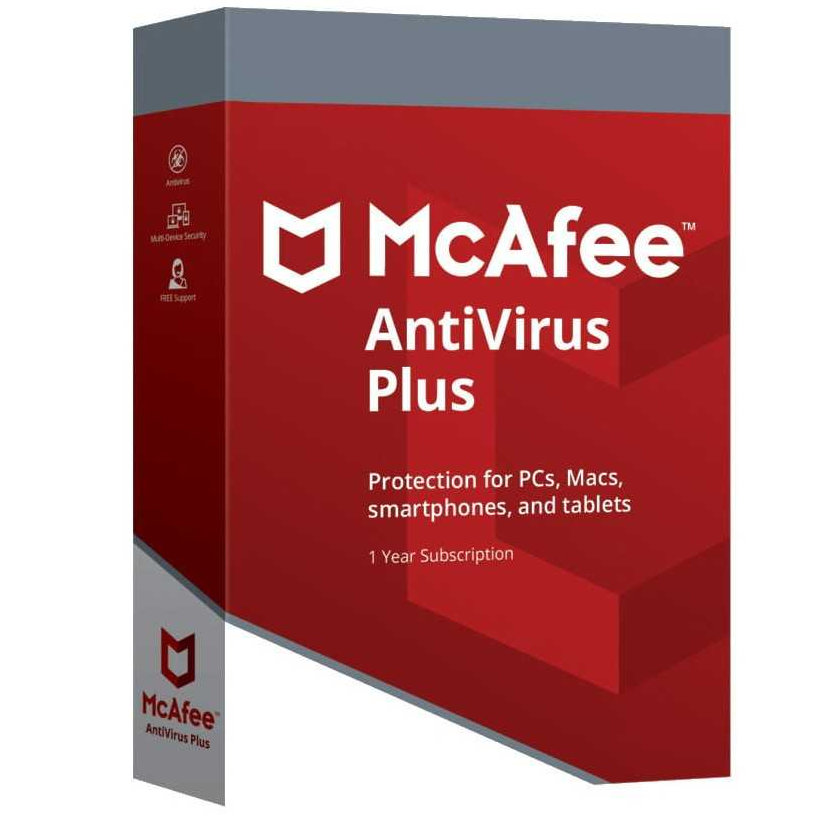 McAfee Antivirus Plus 10 Dispositivos