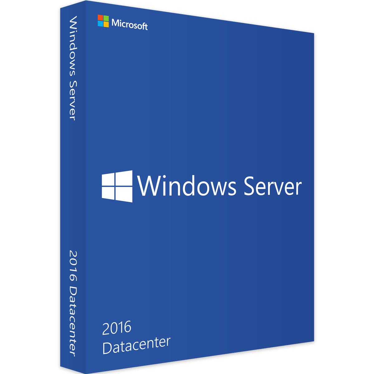 Licencia Windows Server 2016 Datacenter